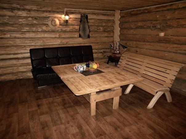 Баня на дровах - №1